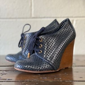 Tory Burch Wedge Booties